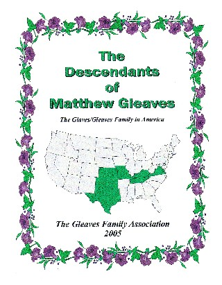 Cover of The Descendants of Matthew Glaves